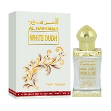 White Oudh by Al Haramain / 12 ml / Attar / pure Oil / USA SELLER