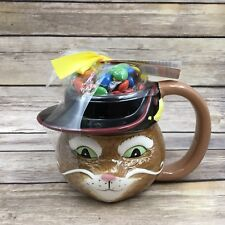2004 Galerie Shrek Puss and Boots Cat 3D Coffee Cup Mug