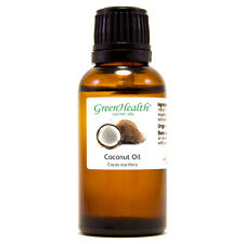 1 fl oz Coconut Carrier Oil (100% Pure & Natural) - GreenHealth