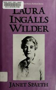 Laura Ingalls Wilder Hardcover Janet Spaeth