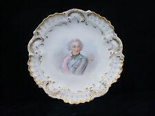 Pr. Hand Decorated Portrait Plates (Signed) - A. Lanternier Limoges c:1891-1914