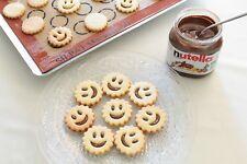 Emporte pièce rond pour gâteaux sablés Smiley BN Sourire Rouge pâtisserie noël