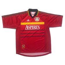 🔥Vintage 1998/00 Bayer 04 Leverkusen Home Football Shirt Adidas - Size XL🔥