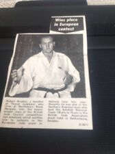 64-5 Ephemera 1971 Picture Robert Bradley British Judo Champion Margate