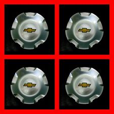 4PC NEW 2007-2013 CHEVY SILVERADO TAHOE AVALANCHE SUBURBAN WHEEL HUB CENTER CAP