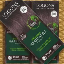 Logona Pflanzen-Haarfarbe 101 Schwarz Intense 100g Naturkosmetik Bio Vegan Pfleg