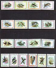 Barbuda 1980 Birds set fine fresh MNH