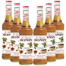 Monin Sirup Tiramisu, 0,7L, 6er Pack