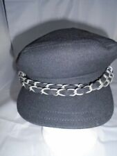 VOLCOM Greek Fisherman cap Scram Cap with chain Wool blend