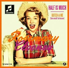 """7"""" ROSEMARY CLOONEY Half As Much / Botch-A-Me PERCY FAITH 45rpm COLUMBIA D 1952"""