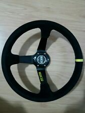 VOLANTE SPARCO DESPLAZADO racing rally drift kanjo 350MM ENVIO GRATIS