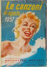 Les Chansons de Août 1957 / 8 Courriers Électroniques Musicali-Design