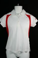 942X08 Champion H317 Womens Double Dry Collared Shirt Sm Red/White