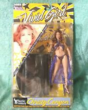 Adult Superstars figure CHRISTY CANYON purp Cleopatra Plastic Fantasy Vivid girl