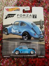 Volkswagen Classic Bug 1/64 Premium Hot Wheels Forza 7 Nip