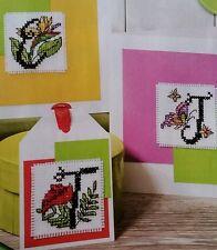 'Tropical Blooms Abc' Design By Durene Jones (D22) cross stitch chart
