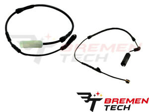 For BMW E88 E90 Brake Pad Wear Sensor Kit Front+Rear 34356789440+34356789445