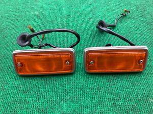 Datsun 620 pickup turn signal lamp  side lamp 1 pair Genuine Parts Nos Japan