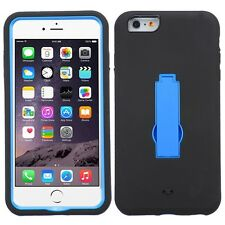 "BLUE Symbiosis STAND COVER CASE for 5.5"" iPhone 6 Plus & iPhone 6s Plu"