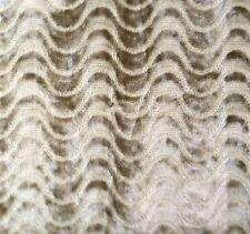 DESIGNERS GUILD Bernardini Weaves Marlia Taupe Velvet Remnant New
