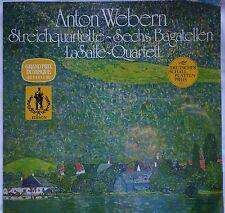 WEBERN Streichquartette String Quartets LaSalle Q.  LP Orbis 63841 SEALED / OVP