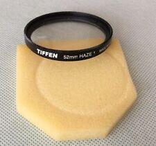 Tiffen 52 Mm Haze 1 Filter Made In USA