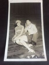 Vintage Signed Photo 1935 believed Music Hall Stage Theatre Entertainer Leeds