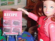 Barbie Sandwich Bar Recipe Book Food Lot fits Fisher Price Loving Family Dolls