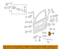 GM OEM Door-Lock Striker 84076248