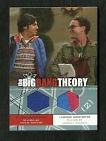 2012 The Big Bang Theory Seasons 3 & 4 Dual Wardrobe DM-07 Raj & Leonard