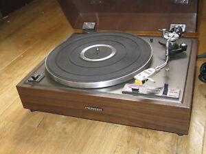 Pioneeer PL-12D II HiFi Stereo Record Turntable Pioneer PC-35 Cartridge & Stylus