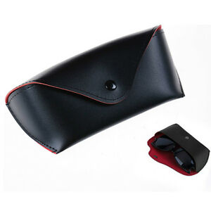 Leather Glasses Case Sunglasses Eyeglasses Storage Holder Box Bag Cases l YK