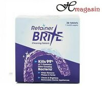 Retainer Brite 36 Cleaning tablets (Unboxed)