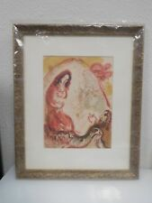MARC CHAGALL BIBLE Rachel Hides Her Father's Household Gods 100% Authentic New**