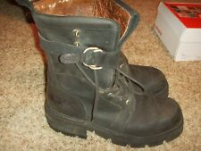NewRock Boots Goth Punk Motorcycle Mens Size 11-11.5