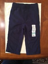 Nwt- Infant Boys Jumping Beans Blue Lined Pants-Size 18 Months