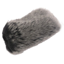 Microphone Windscreen Karaoke Wind Shield Pop Filter Mic Cover Grey Small