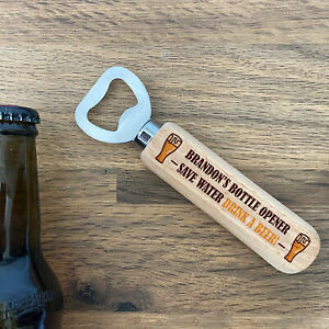 Personalised Gifts For Him Novelty BEER Bottle Opener Funny Birthday Gift Idea