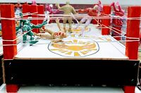 Mexican Lucha libre Toy - Wrestler Package Of 3 Figures And Ring  Made In Mexico