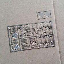 Harness Seat Belt Set for Pocher, Altaya, DeAgostini, Monogram 1/8  black belts!