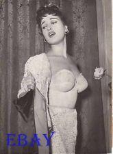Silvana Pampanini busty candid VINTAGE Photo 1955 Athens Greece
