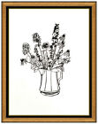 Tom Wesselmann Large Color Screenprint Hand Signed Modern Country Bouquet Flower