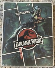 Jurassic Park Very Rare Brand New Steelbook BluRay 2014 Comic Edition Limited Ed