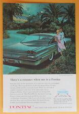 Pontiac Ventura Sports Coupe  Vintage  Magazine Print Ad 1960
