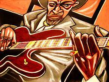 ROBERT LOCKWOOD JR. PRINT poster mississippi delta crossroads blues cd guitar