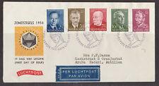 FDC E 16 - E16 Zomerzegels 1954 getypt adres