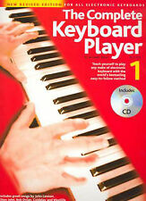 NEW The Complete Keyboard Player, Keyboard, Book, Learn play keyboard, tutorial