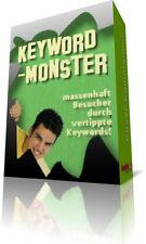 Keyword-Monster - Massenhaft Besucher auf Ihrer Webseite - versch. Lizenzarten