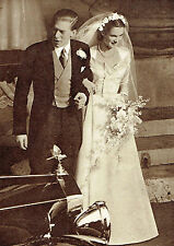 Marion Stein George Lascelles Wedding Earl Of Harewood 1949 3 Page Photo Article