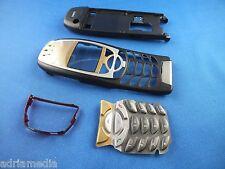 Nokia 6310 6310i FRONT COVER POSTERIORE BARRA A INFRAROSSI jetblack Tastiera Originale Nuovo